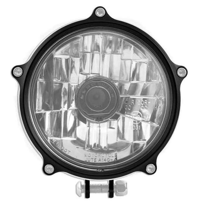 【RSD Roland Sands Design】VINTAGE 頭燈 (對比色) - 「Webike-摩托百貨」