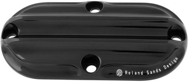 【RSD Roland Sands Design】引擎檢修孔外蓋 (NOSTALGIA/黑色陽極處理) - 「Webike-摩托百貨」