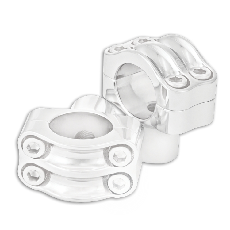 【RSD Roland Sands Design】1-1/4吋 把手用 4螺絲固定式把手固定座 (NOSTALGIA/電鍍) - 「Webike-摩托百貨」