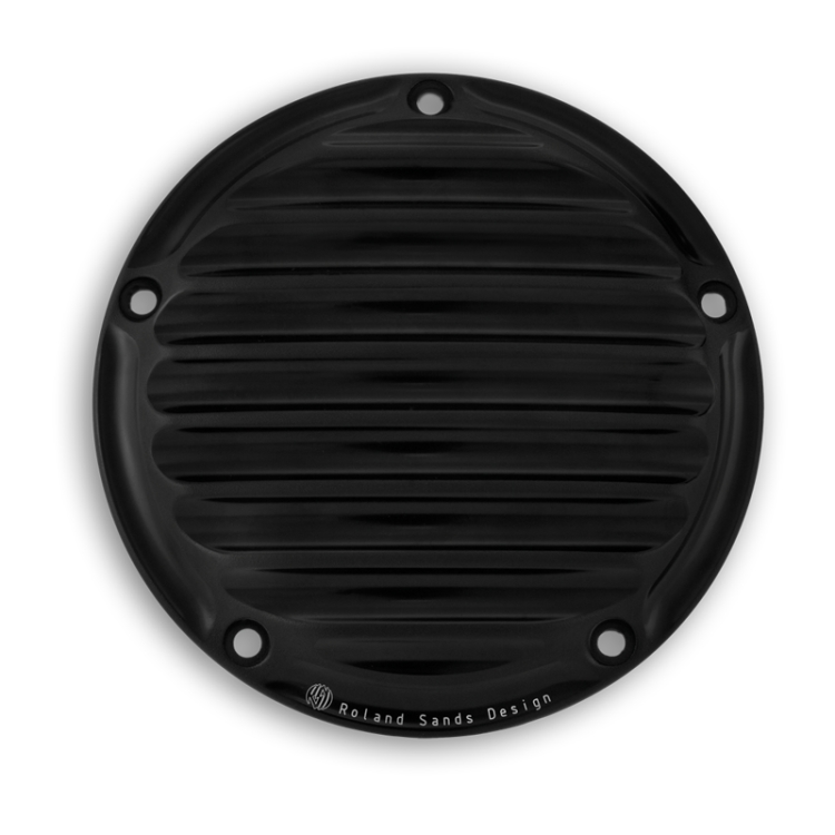 【RSD Roland Sands Design】Derby 外蓋 (NOSTALGIA/消光黑) - 「Webike-摩托百貨」