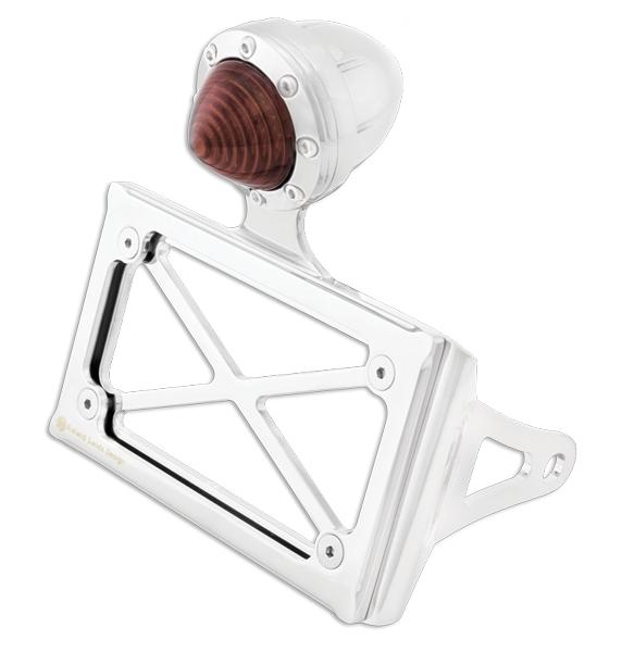 【RSD Roland Sands Design】後避震器固底座用 牌照架 (HORIZONAL/電鍍) - 「Webike-摩托百貨」