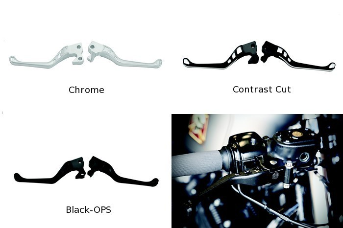 【RSD Roland Sands Design】離合器&煞車拉桿組 (AVENGER/消光黑) - 「Webike-摩托百貨」