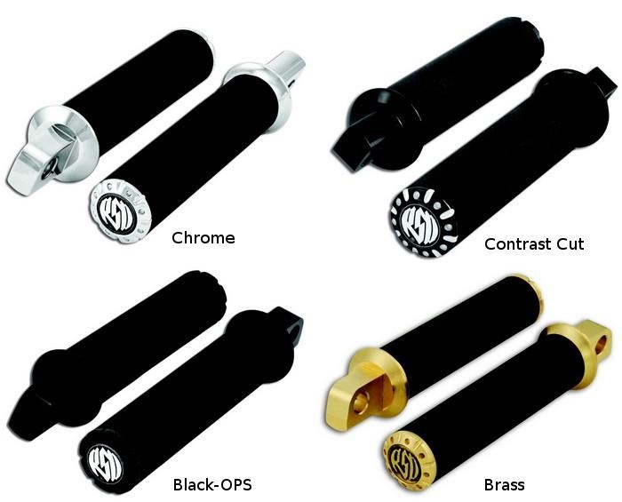 【RSD Roland Sands Design】腳踏桿 (CHRONO/黑色OPS) - 「Webike-摩托百貨」