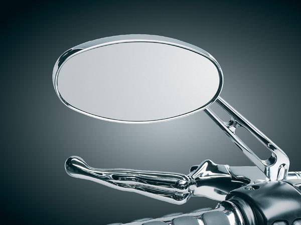 【kuryakyn】ELLIPSE・後視鏡 (鍍鉻/廣角鏡) - 「Webike-摩托百貨」