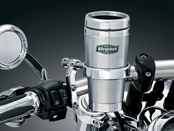 【kuryakyn】不鏽鋼保溫杯含飲料架 - 「Webike-摩托百貨」