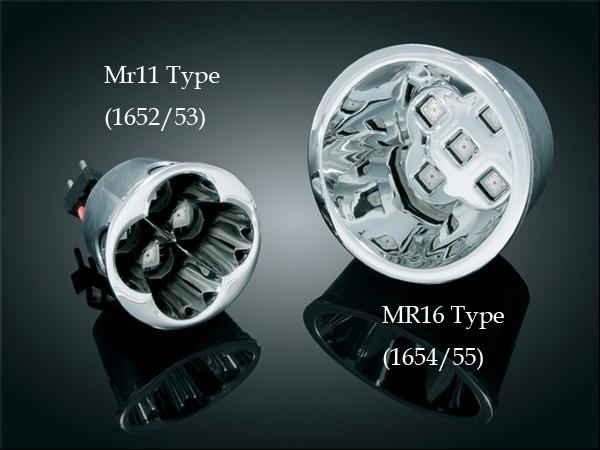 【kuryakyn】Super Bright LED 燈 (Deep dish style 反射型燈泡用 小型/紅色) - 「Webike-摩托百貨」