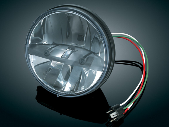 【kuryakyn】7吋 LED 頭燈 - 「Webike-摩托百貨」