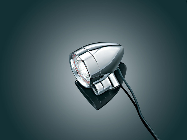 【kuryakyn】5/16吋 -18 Silver Bullet 螺絲固定式輔助燈 (小型) - 「Webike-摩托百貨」