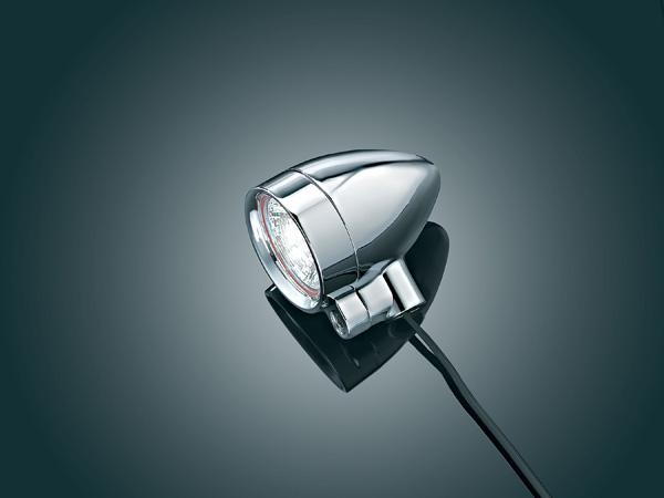 【kuryakyn】3/8吋 -16 Silver Bullet 螺絲固定式輔助燈 (小型) - 「Webike-摩托百貨」