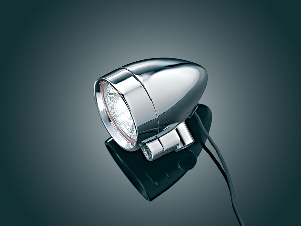 【kuryakyn】5/16吋 -18 Silver Bullet 螺絲固定式輔助燈 (大型) - 「Webike-摩托百貨」