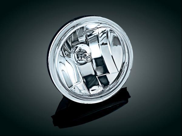 【kuryakyn】4-1/2吋 Diamond Cut Ice 晶鑽型頭燈 (Smooth 透明燈殼) - 「Webike-摩托百貨」
