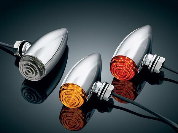【kuryakyn】LED Barrett 方向燈 (附琥珀色燈殼) - 「Webike-摩托百貨」