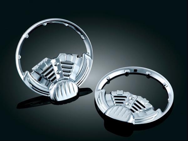 【kuryakyn】Twin Ring 2吋 儀錶框 - 「Webike-摩托百貨」