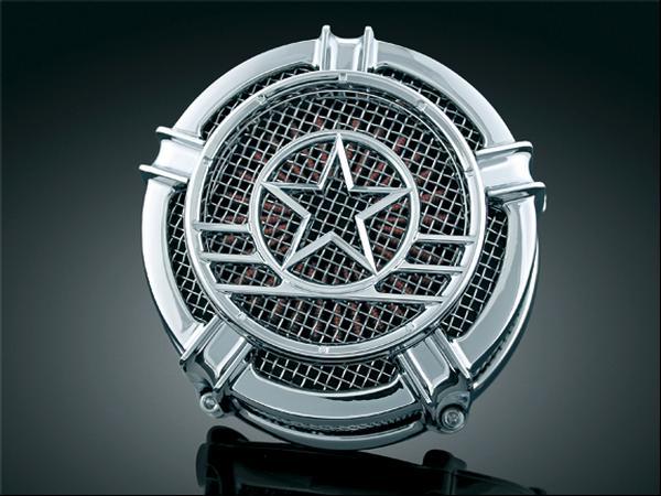 【kuryakyn】Patriot Medal 空氣濾清器 (鍍鉻) - 「Webike-摩托百貨」