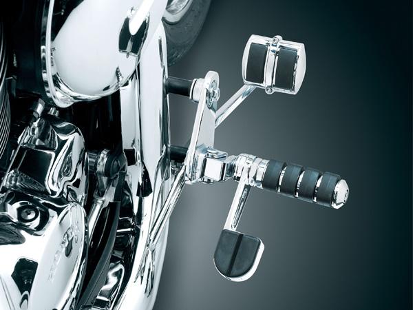 【kuryakyn】煞車踏板&腳跟打檔踏板 - 「Webike-摩托百貨」