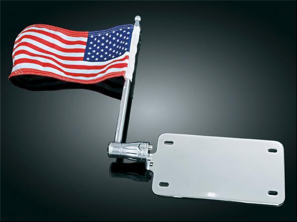 【kuryakyn】4吋 x9吋 替換用旗子 (American) - 「Webike-摩托百貨」