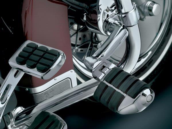 【kuryakyn】1-1/4吋 管狀車架用加長偏移型踏板 (Dually) - 「Webike-摩托百貨」
