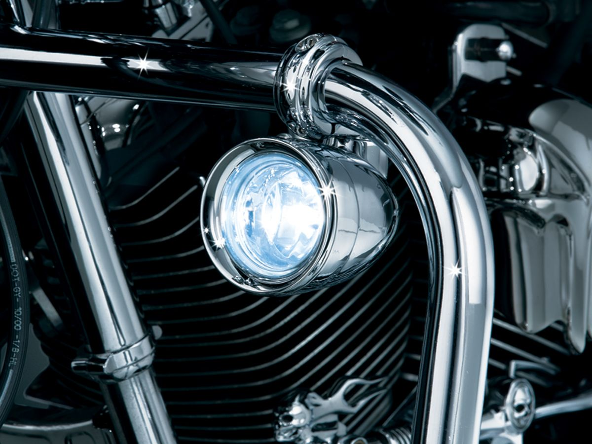 【kuryakyn】1-1/4吋 引擎保桿用 輔助燈 - 「Webike-摩托百貨」