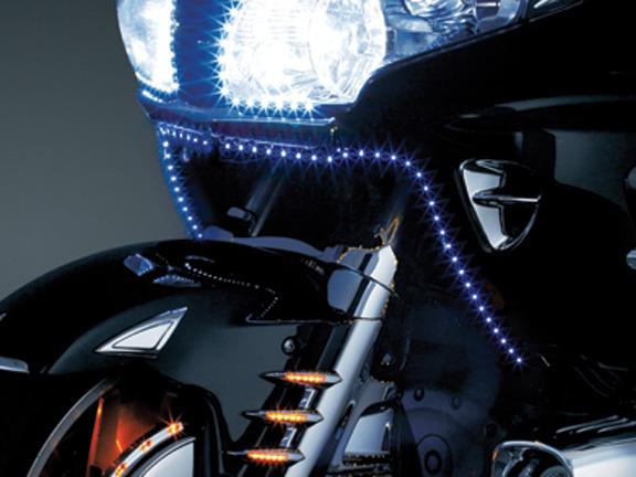 【kuryakyn】Skinni Mini Ultra Bright LED 燈 (藍色) - 「Webike-摩托百貨」
