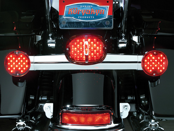 【kuryakyn】Delixe Panacea 尾燈 (紅色/有牌照照明窗) - 「Webike-摩托百貨」