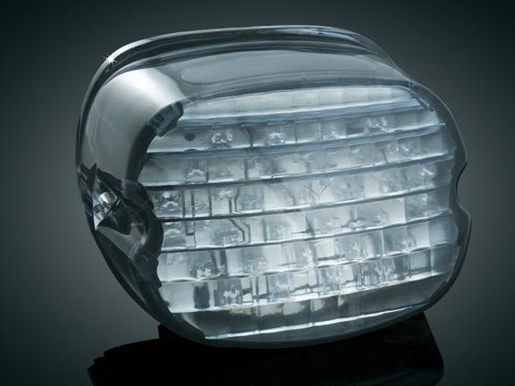【kuryakyn】Lo Pro Panacea 尾燈 (燻黑色/無牌照照明窗) - 「Webike-摩托百貨」