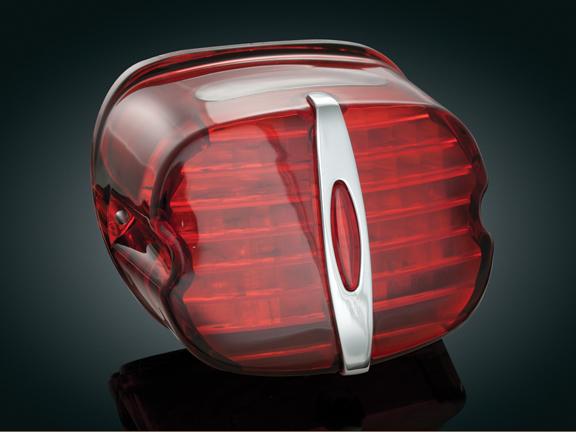 【kuryakyn】LED 尾燈 (紅色/有牌照照明窗) - 「Webike-摩托百貨」