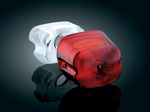 【kuryakyn】無牌照照明窗尾燈燈殼 (紅色) - 「Webike-摩托百貨」