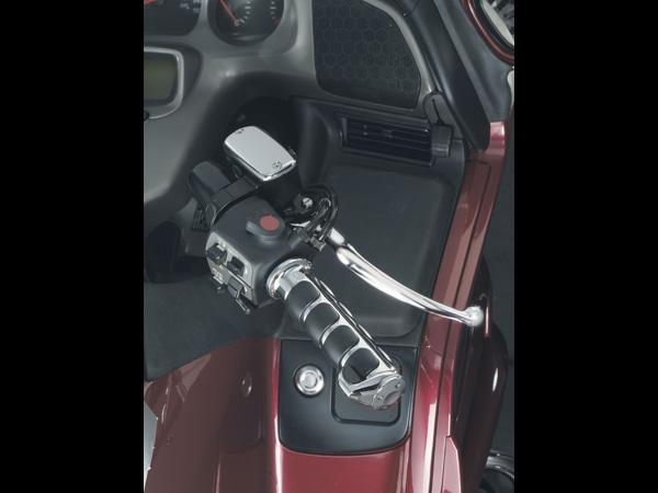【kuryakyn】Honda&Triumph用 ISO握把套 (鍍鉻) - 「Webike-摩托百貨」