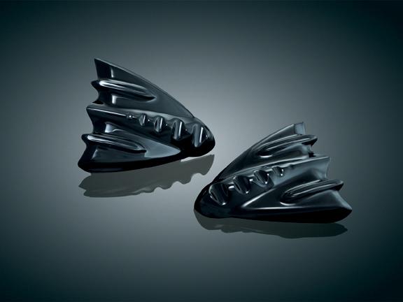【kuryakyn】整流罩內蓋裝飾 (亮黑色) - 「Webike-摩托百貨」