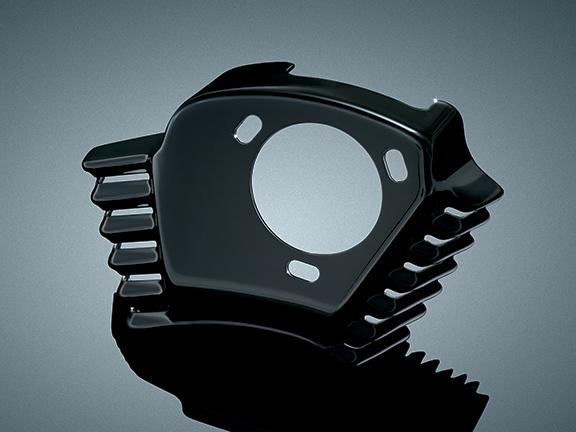 【kuryakyn】引擎外蓋 (空氣濾清器用 黑色) - 「Webike-摩托百貨」