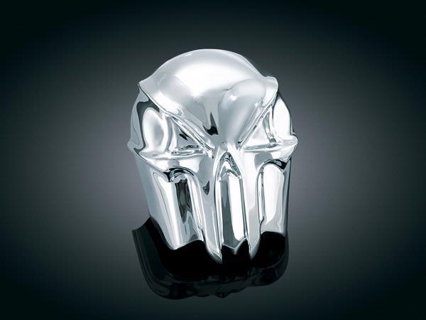 【kuryakyn】Skull 喇叭蓋 (鍍鉻) - 「Webike-摩托百貨」
