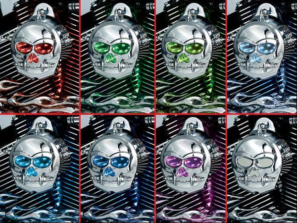 【kuryakyn】LED Zombie 喇叭蓋 - 「Webike-摩托百貨」