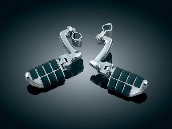 【kuryakyn】1吋 管狀車架用 加長偏移型踏板 (Dually) - 「Webike-摩托百貨」