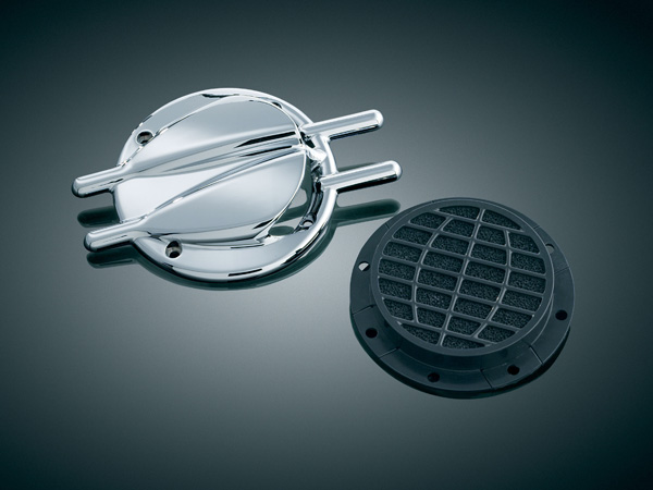 【kuryakyn】Hyper Charger用 空氣濾清器 Stinger Trap Door  - 「Webike-摩托百貨」