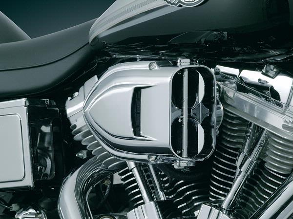 【kuryakyn】Twin Camshaft用 PRO-R Hyper Charger 空氣濾清器  - 「Webike-摩托百貨」