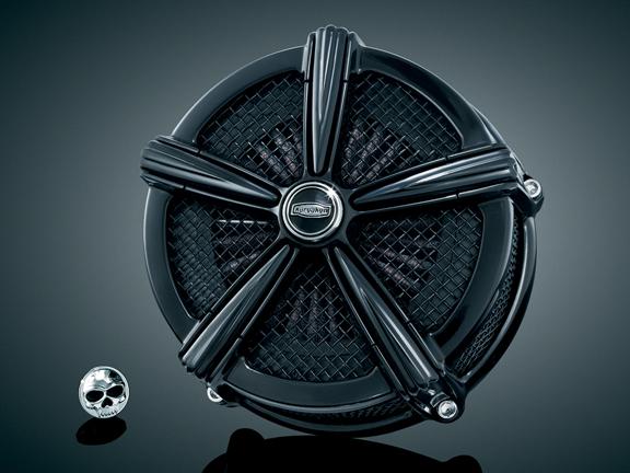 【kuryakyn】Mach 2 空氣濾清器 (全黑色) - 「Webike-摩托百貨」