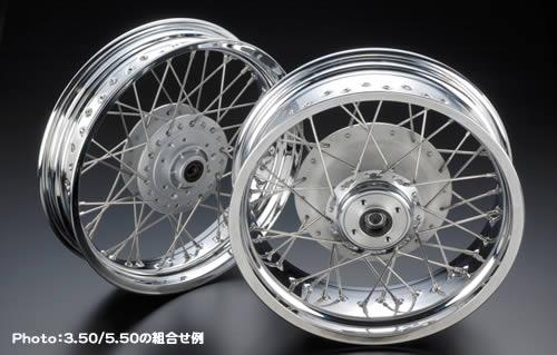 【PMC】17 Inch 鋼絲輪圈 - 「Webike-摩托百貨」