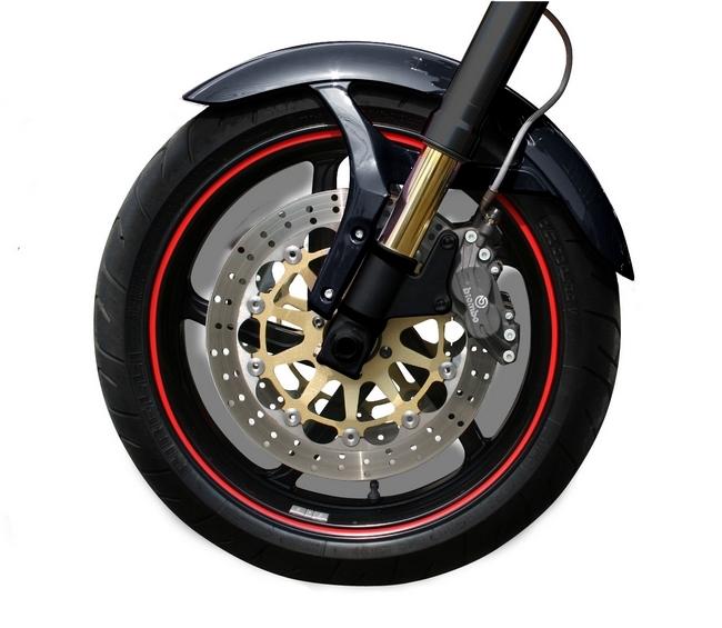 【N PROJECT】輪框貼紙 單線 10-14吋 - 「Webike-摩托百貨」
