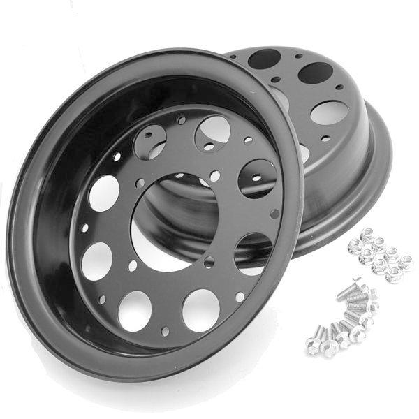 【Hirochi】鋁合金輪框 2Peace 8英吋 3.5J 8孔 - 「Webike-摩托百貨」