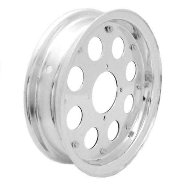 【Hirochi】鋁合金輪框 2Peace 10英吋 2.75J 8孔 - 「Webike-摩托百貨」