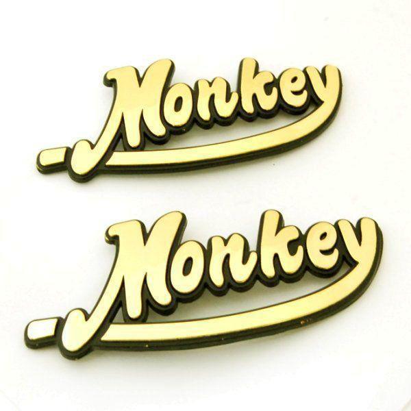 【Hirochi】MONKEY 徽章 - 「Webike-摩托百貨」