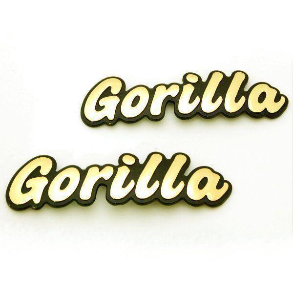 【Hirochi】GORILLA 徽章 - 「Webike-摩托百貨」