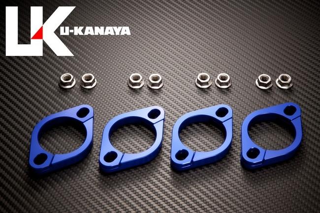 【U-KANAYA】鋁合金切削加工 排氣管頭段固定環 [ZRX1100: ZRX1200: ZRX1200DAEG  専用] - 「Webike-摩托百貨」
