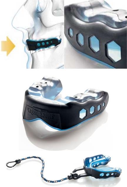 【SHOCK DOCTOR】牙齒護套GEL MAX 附收納繩 (成人用) - 「Webike-摩托百貨」