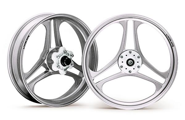 【BULL DOCK】LAVORANTE  鋁合金輪框 【18吋】 銀 - 「Webike-摩托百貨」