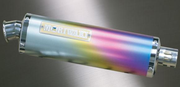 【MORIWAKI】ZERO 3S 全段排氣管 TD FI 【鈦陽極處理】 - 「Webike-摩托百貨」