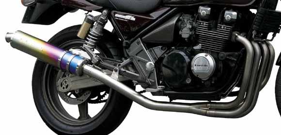 【MORIWAKI】ZERO SS 全段排氣管 【鈦陽極處理】 - 「Webike-摩托百貨」