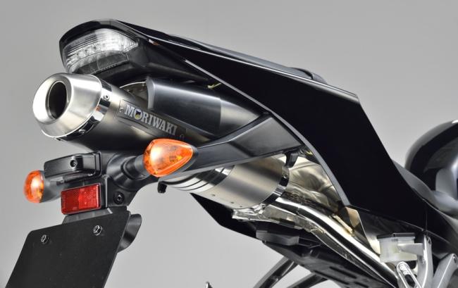 【MORIWAKI】ZERO 排氣管尾段 【白鈦色】 - 「Webike-摩托百貨」