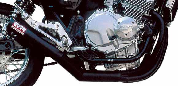 【MORIWAKI】One piece 黑色全段式排氣管 - 「Webike-摩托百貨」