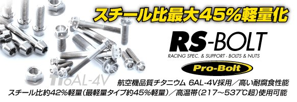 【JURAN】RS-BOLT Race 墊圈頭螺絲 - 「Webike-摩托百貨」